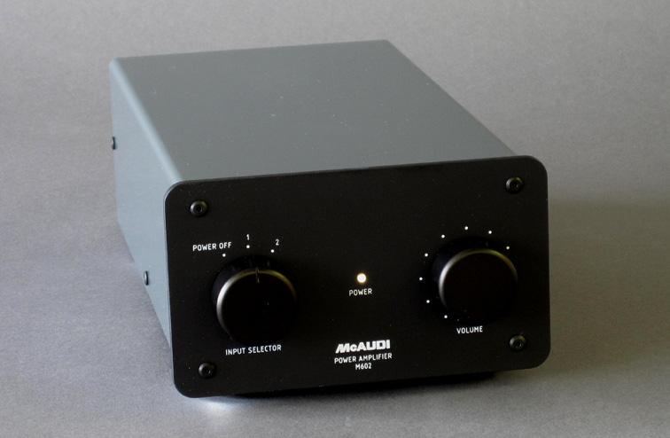 パワーアンプ「M602」