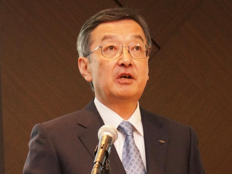 6月に新社長に就任予定の髙橋興三代表取締役兼副社長