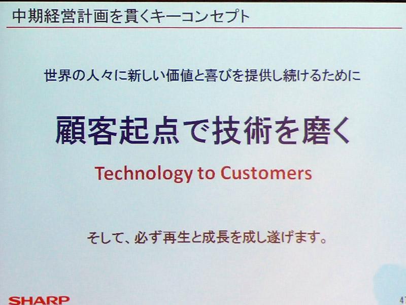 コンセプトは顧客起点で技術を磨く