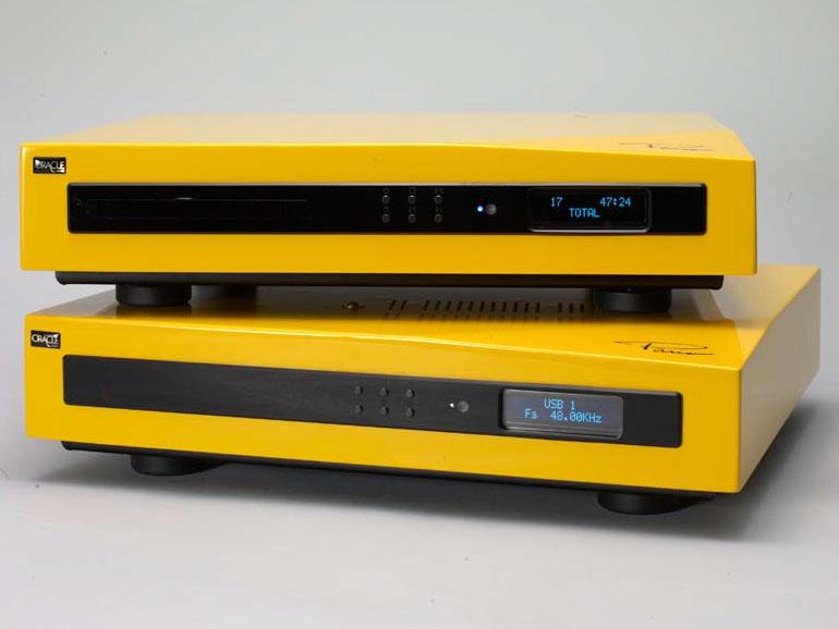 上がCDプレーヤー「Paris CD250」、下がUSB DAC「Paris DAC250」