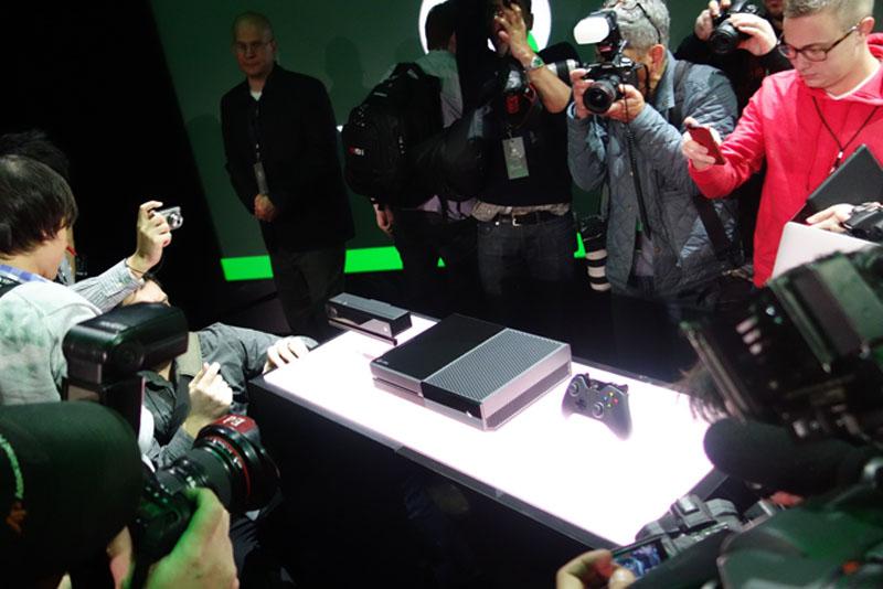 Xbox Oneを初披露