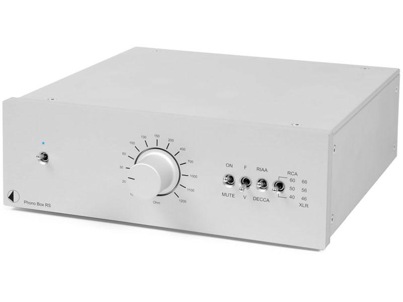 フォノイコライザ「Phono Box RS」のシルバーモデル