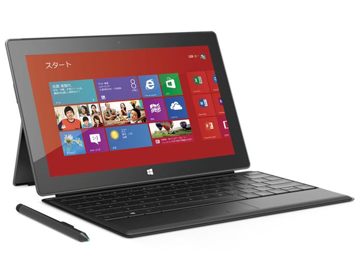 Surface Pro(別売Type Cover装着時)