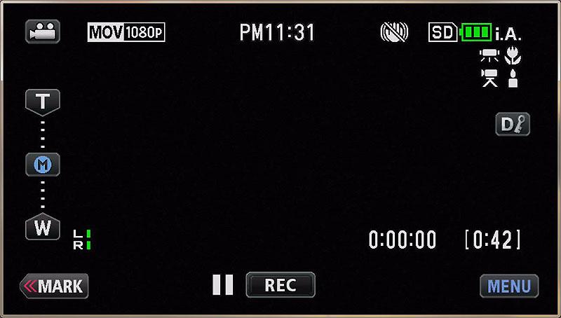 画面左のMを長押しするとズーム位置を記憶する