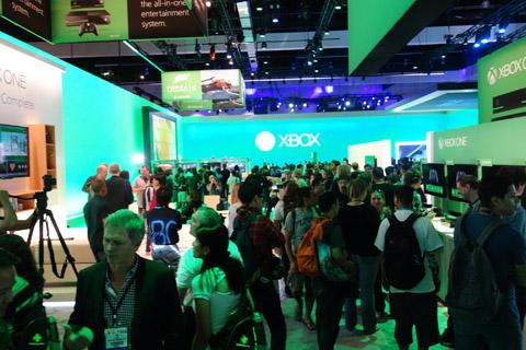 Xboxのブース