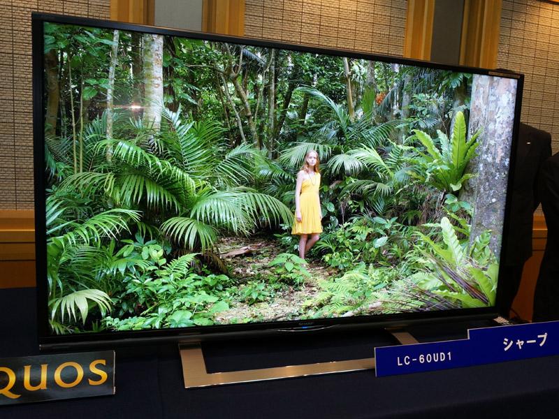 シャープ4Kテレビ「LC-60UD1」