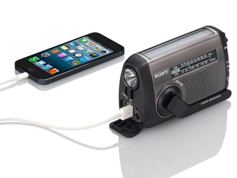 iPhone接続時(ICF-B88)