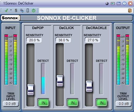 Sonnox DeClicker