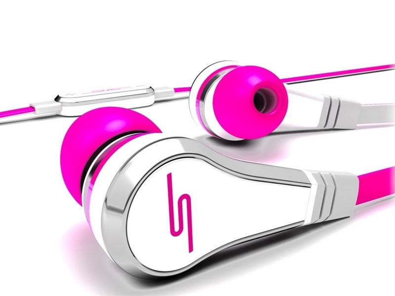 カナル型のエレクトリック・ピンク