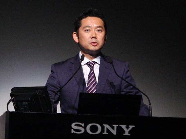 ソニーマーケティング デジタルイメージングMK部 担当部長の小笠原啓克氏