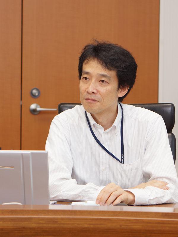 ホーム&モバイル事業グループ 商品企画統括部 新事業企画部 シニアスタッフの上村直弘氏