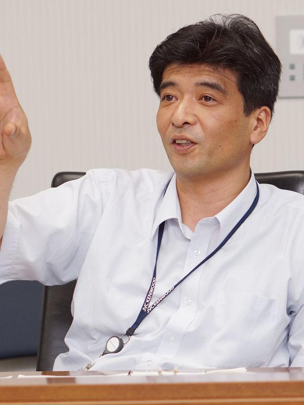 イメージング事業部 技術統括部 谷田泰幸副統括部長