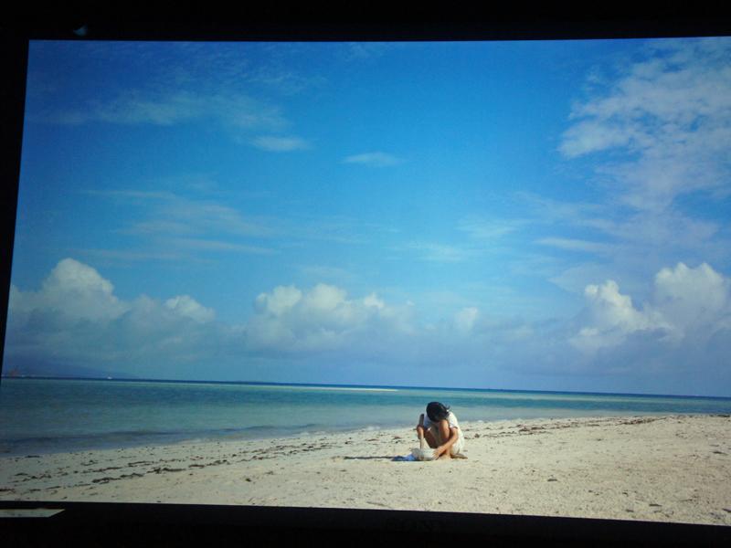 詩的な映像の「手織りの鳴る島」