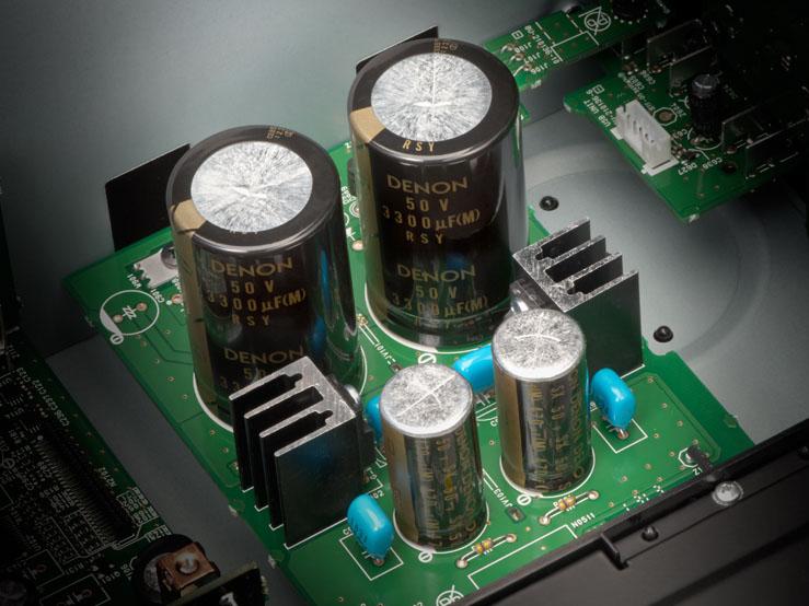 USB DAC用にブロックコンデンサを新設計