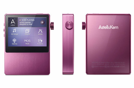 Astell & Kern AK100 ワインレッド