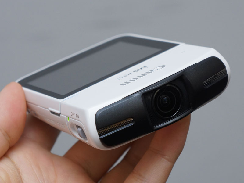 「iVIS mini」ホワイトモデル
