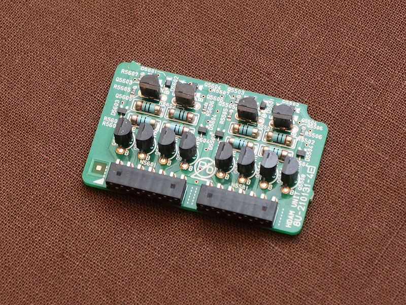 HDAM-SA3にフェアチャイルド・セミコンダクターのトランジスタを採用