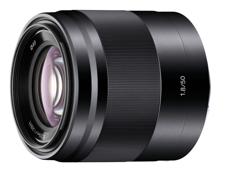 E 50mm F1.8 OSSの新色ブラック