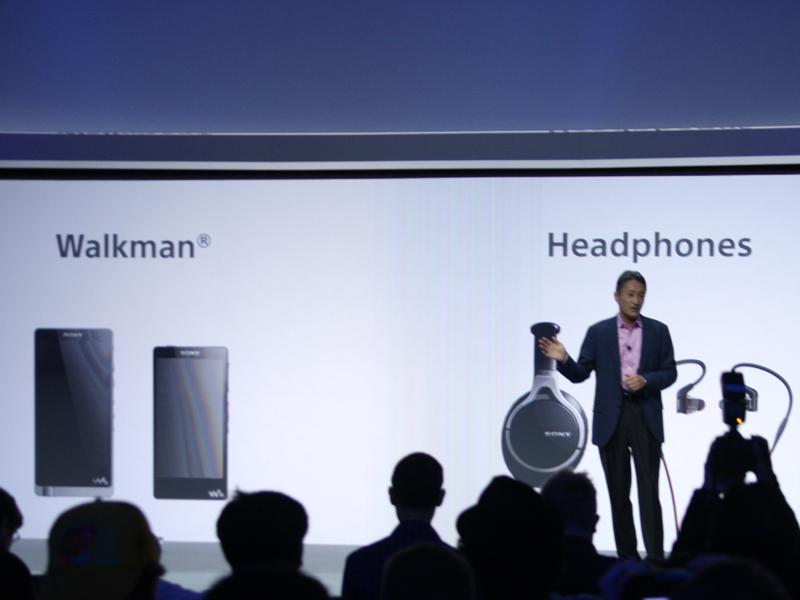 発表された新ウォークマンやヘッドフォンなどが「Hi-Res」ロゴの対象モデル
