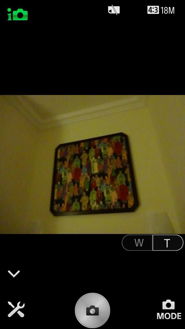 撮影に使うスマホアプリ「Playmemories Mobile」。画面はiPhone版。