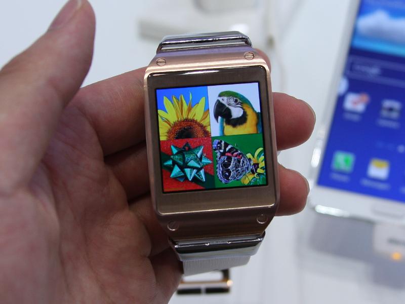 Samsungが発表したGalaxy Gear
