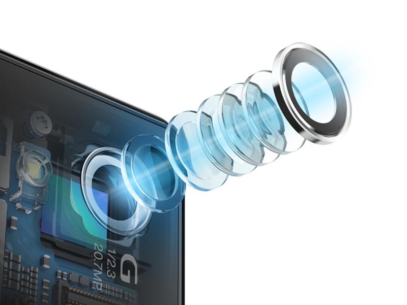 Xperia Z1のカメラレンズ構成