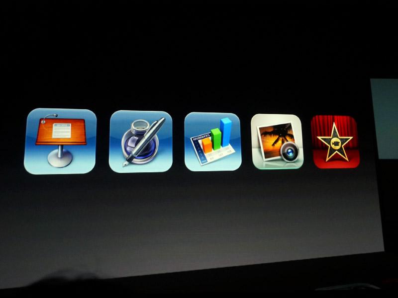iPhoto、iMovie、Keynoteなどを無料に