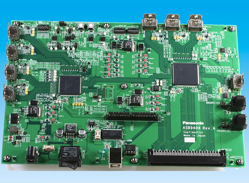 HDMI 2.0規格準拠の通信用LSI評価ボード