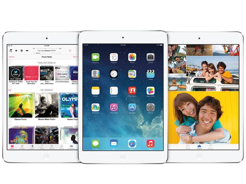 iPadでiOS 7