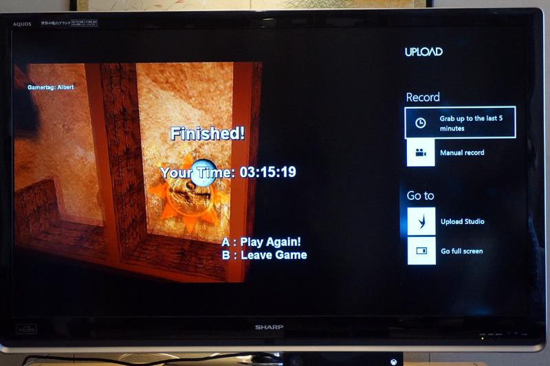 ゲームプレイの映像を録画してアップロード。PS4にもある機能だが、この種のものは今世代の特徴となりそう。アップロード作業そのものも「アプリ」側が行なう