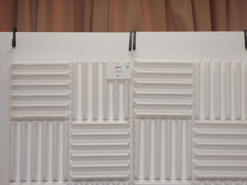 PVCを使った音響拡散パネル