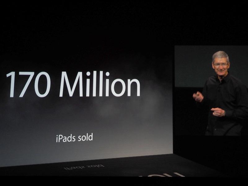 iPadはこれまでに1億7,000万台以上を販売
