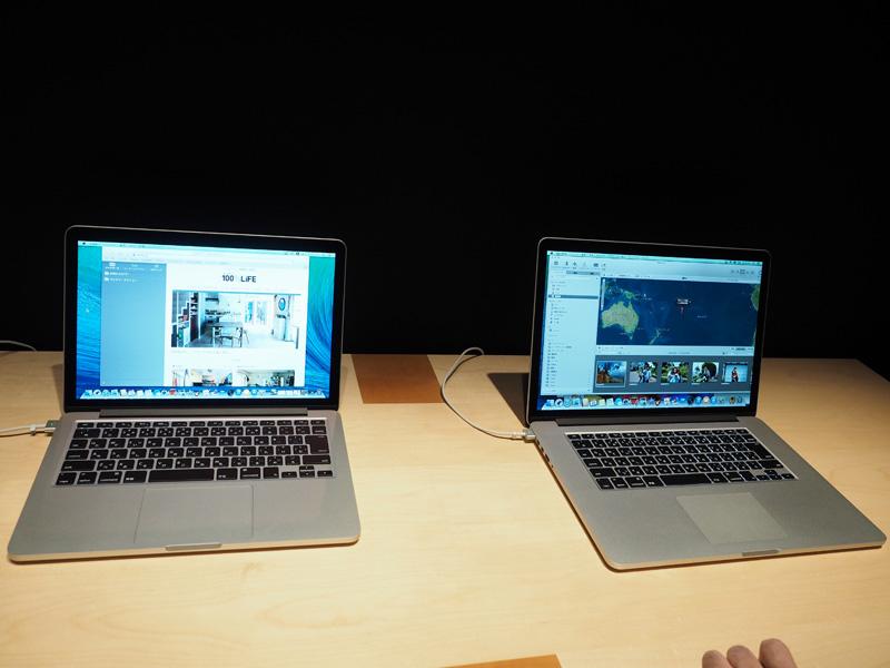 MacBook Pro Retinaディスプレイモデルも発表