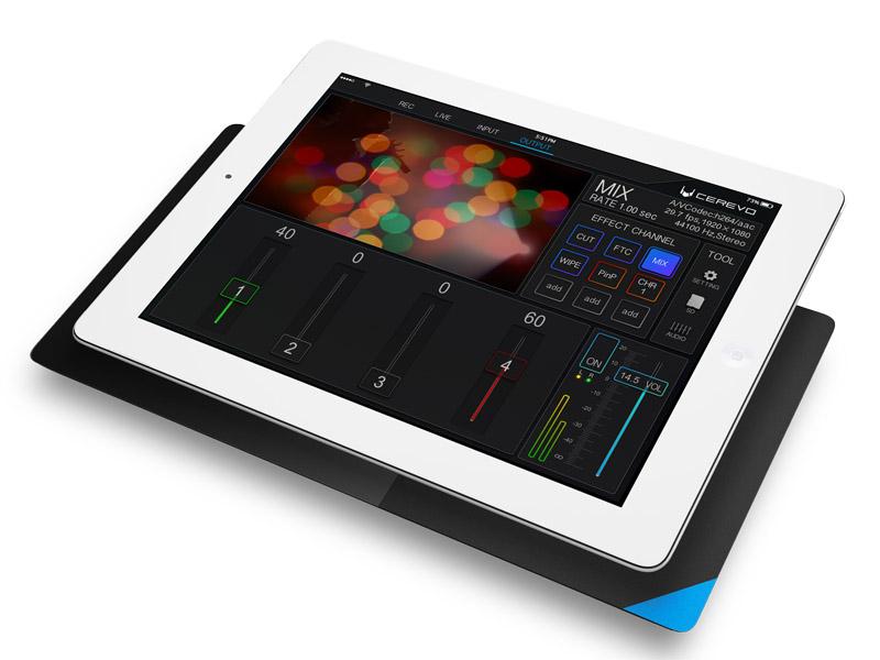 iPadで操作可能