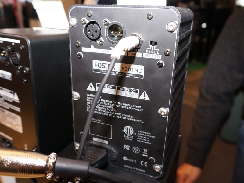 AES/EBUを装備