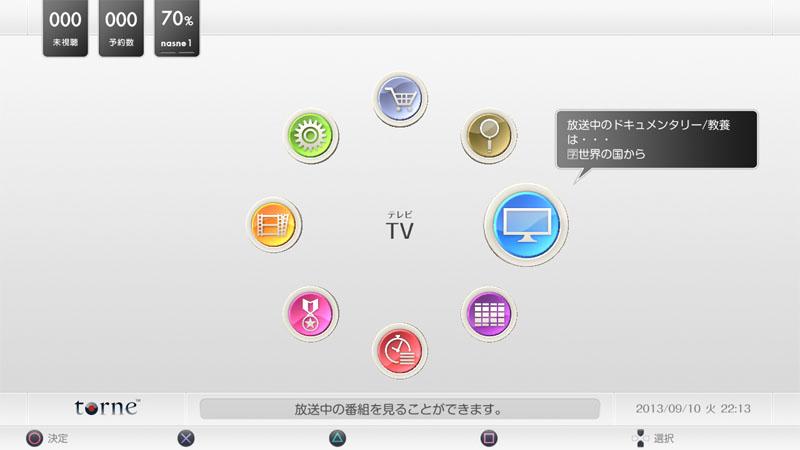 torne PlayStation Vita TV