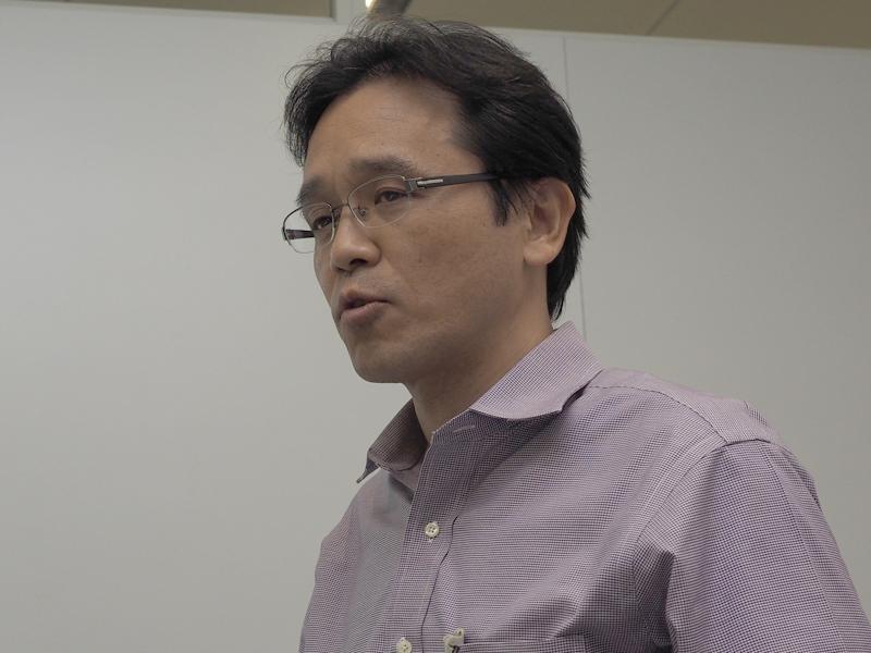 DSEE HX技術の詳細を解説したソニーの知念徹氏