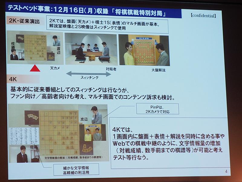 東北新社は、「将棋棋戦特別対局」を16日に収録