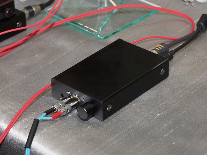 フルバランスポータブルアンプ「REX-KEB02AK」