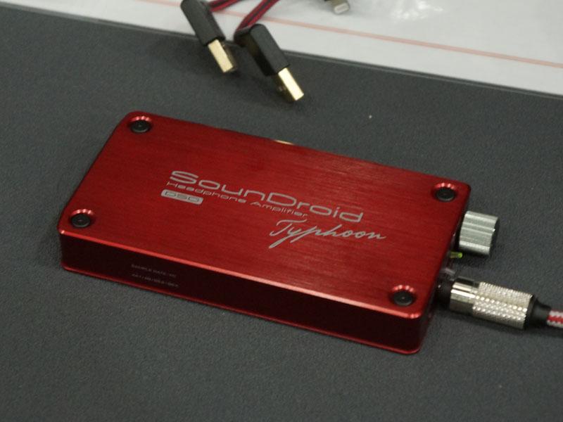 ベンチャークラフトでは、「SounDroid Typhoon」の限定カラー、赤モデルを12月21日に発売。価格は59,800円で、100台限定。MUSES02を標準搭載している