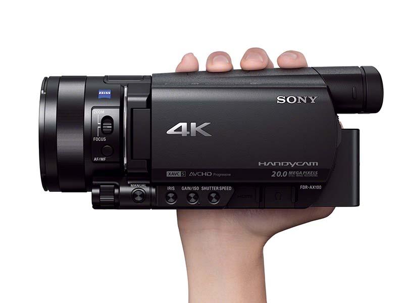 側面「4K」ロゴ