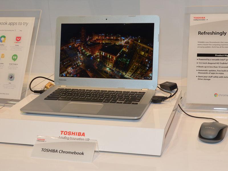 4Kモデルではないが、北米地区で2月16日より279ドルにて、日本メーカーとしては初めてChromeOS搭載のノートPCを発売することも発表された