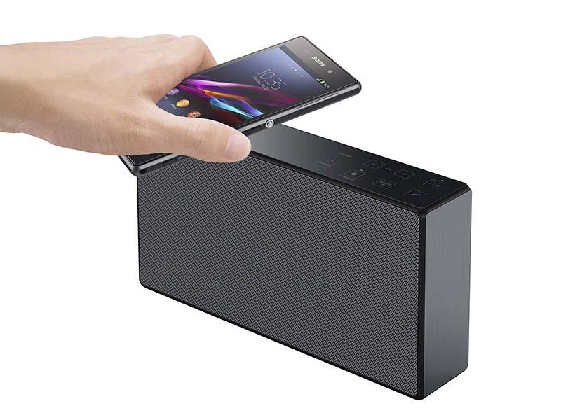 NFCを搭載しワンタッチでペアリング