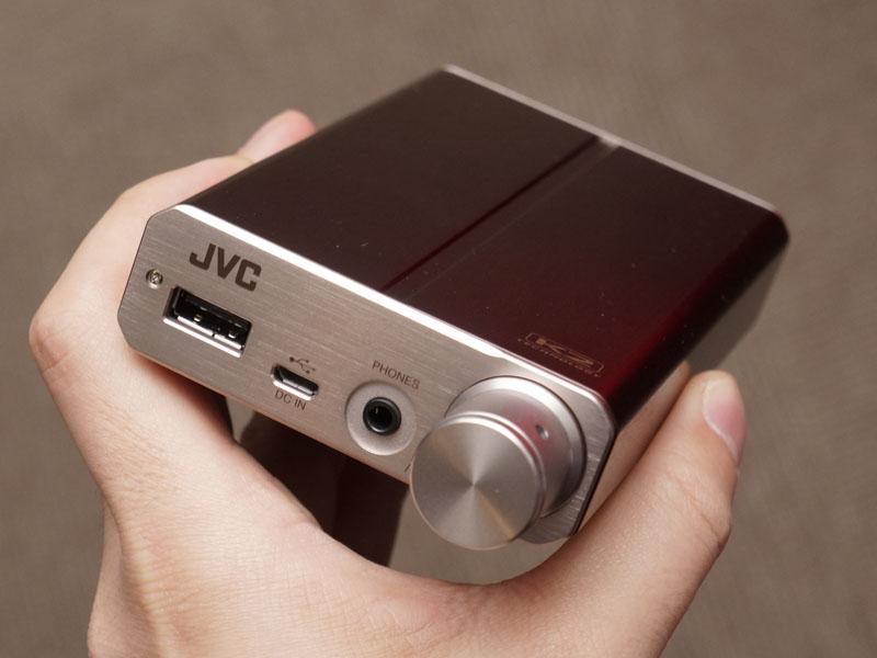 ポータブルヘッドフォンアンプの試作機