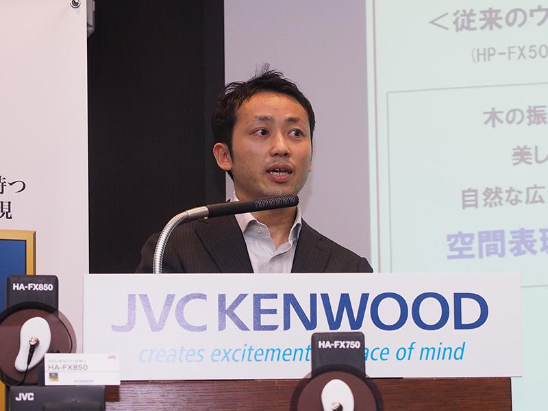JVCケンウッドの宮澤貴之氏