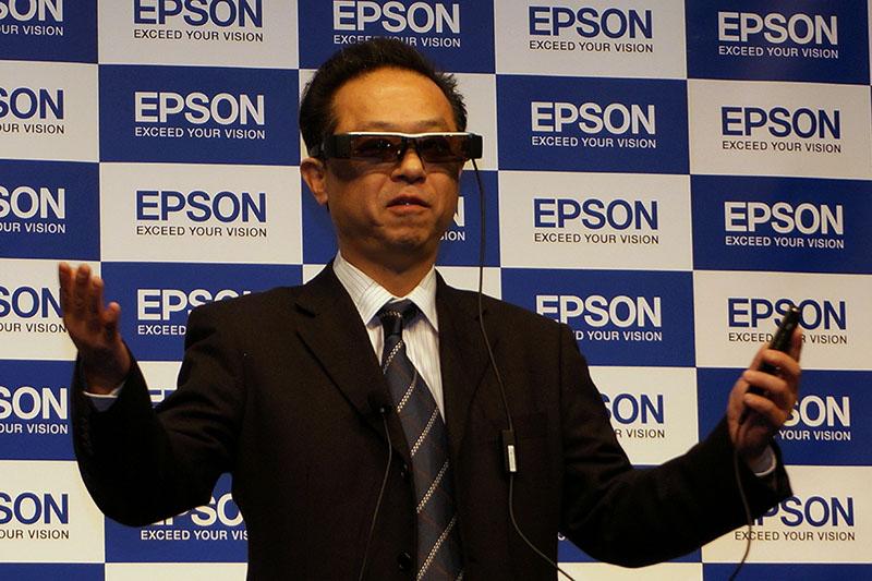 エプソン 渡辺 潤一 ビジュアルプロダクツ事業部長