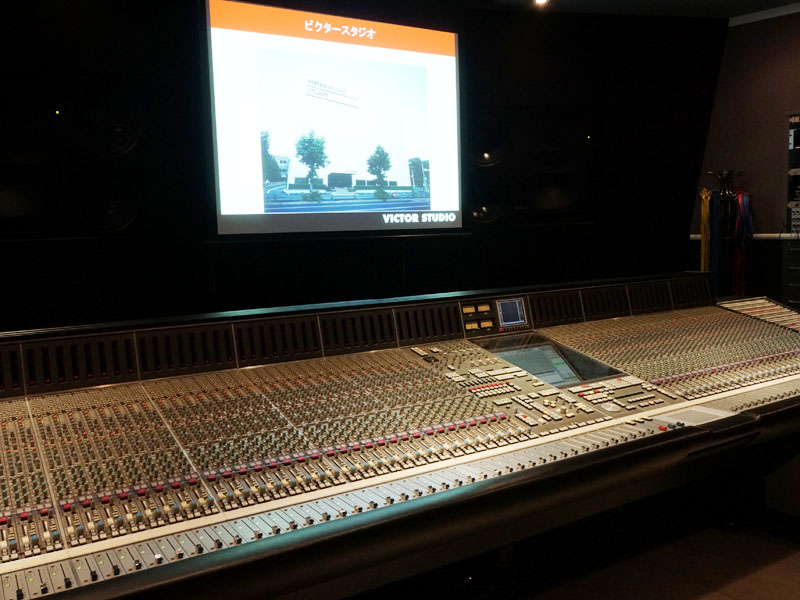 5日にビクタースタジオで発表会が開催された