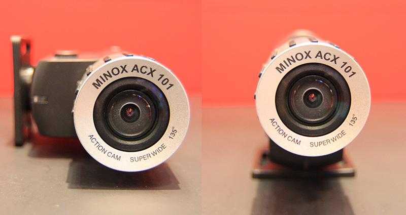 カメラユニットを180度回転可能