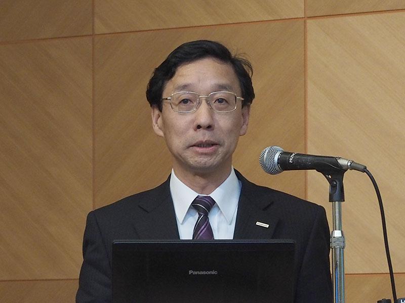 パナソニックAVCネットワークス社 イメージングネットワーク事業部の杉田卓也事業部長