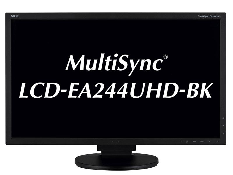 24型4K液晶ディスプレイ MultiSync LCD-EA244UHD-BK